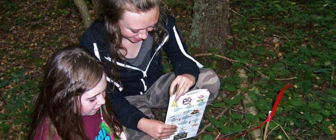 Youngsters find rare fungus